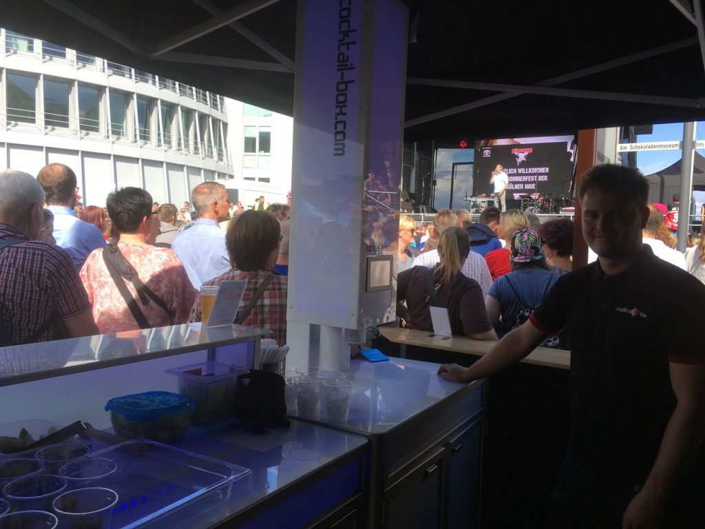 Sommerfest Kölner Haie cocktail-box