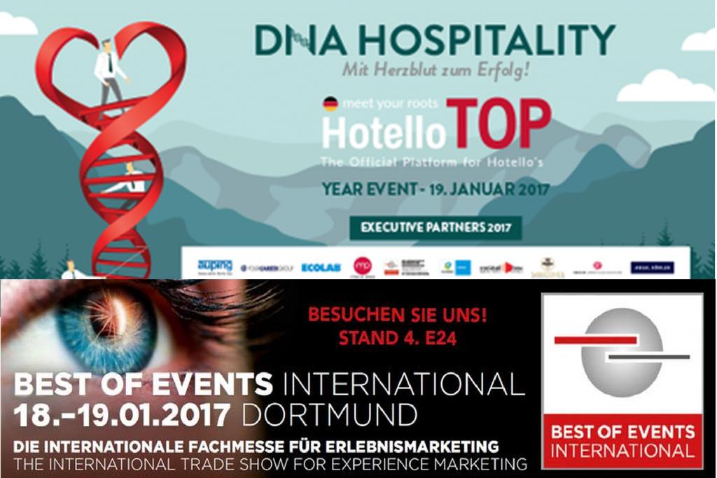 2017 ist cocktail-box auch wieder als Executive Partner von HotelloTOP beim Jahrestreffen der Hotelbranche mit dabei.