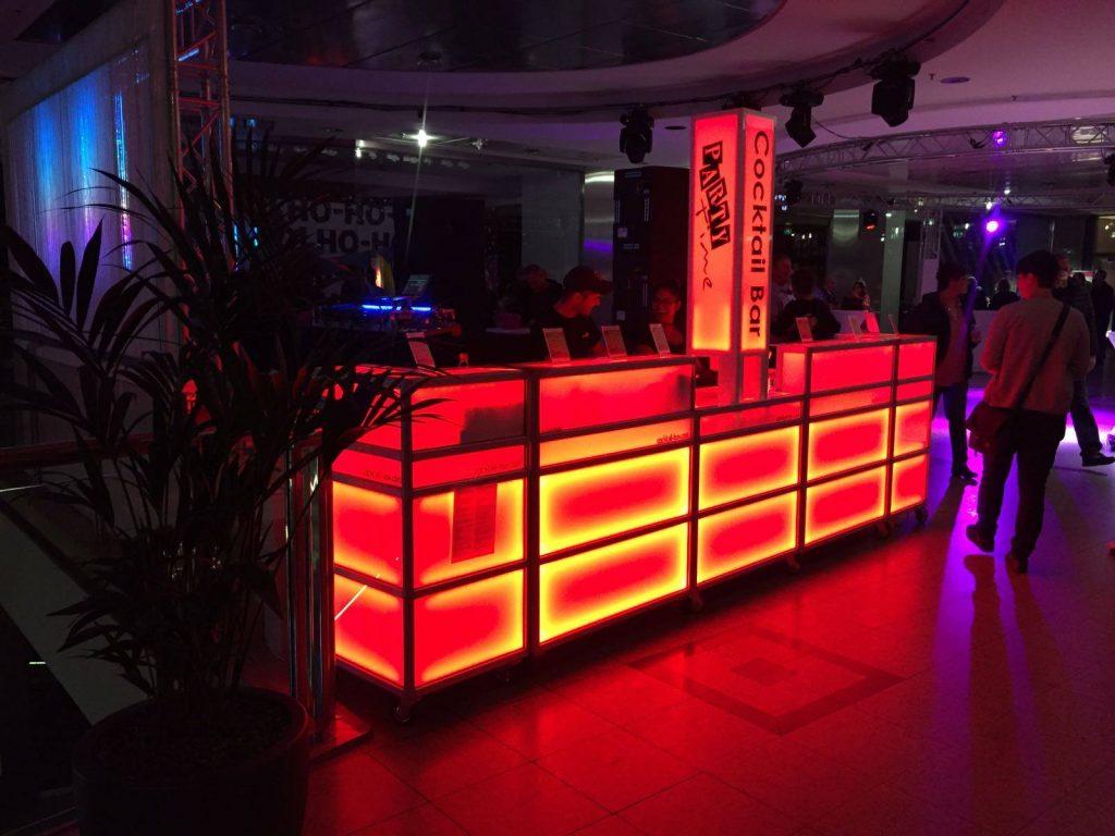 cocktail-box Bar bei der Kulthit-Party in Siegen