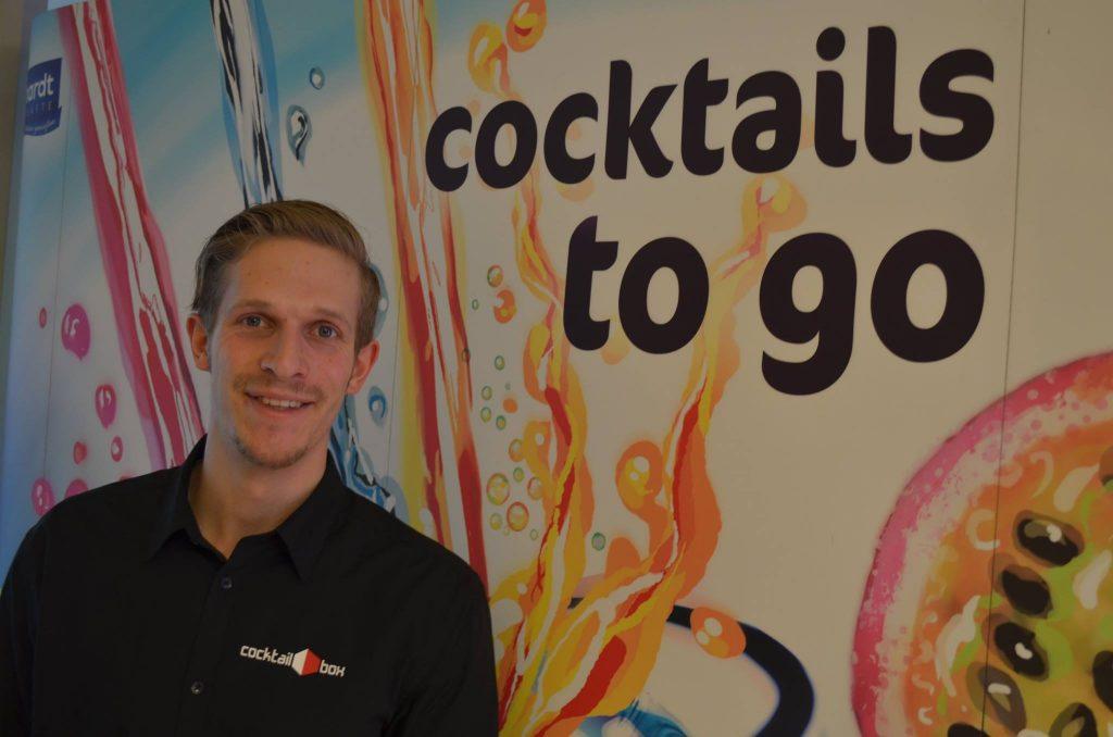 Willkommen Nils im Team cocktail-box