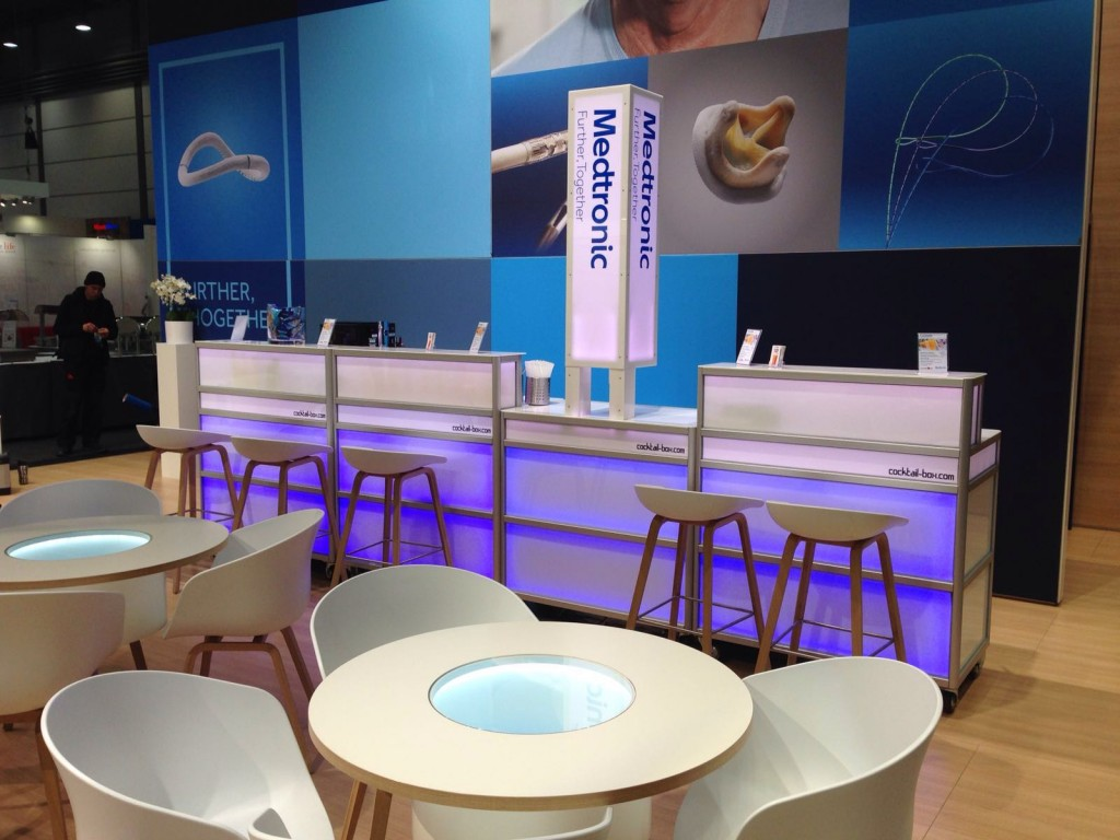 cocktail-box, die Cocktailmaschine und mobile Cocktailbar bei medtronic